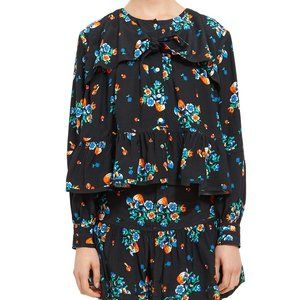 [NWT] Opening Ceremony Long Sleeve Tie Knot Blouse